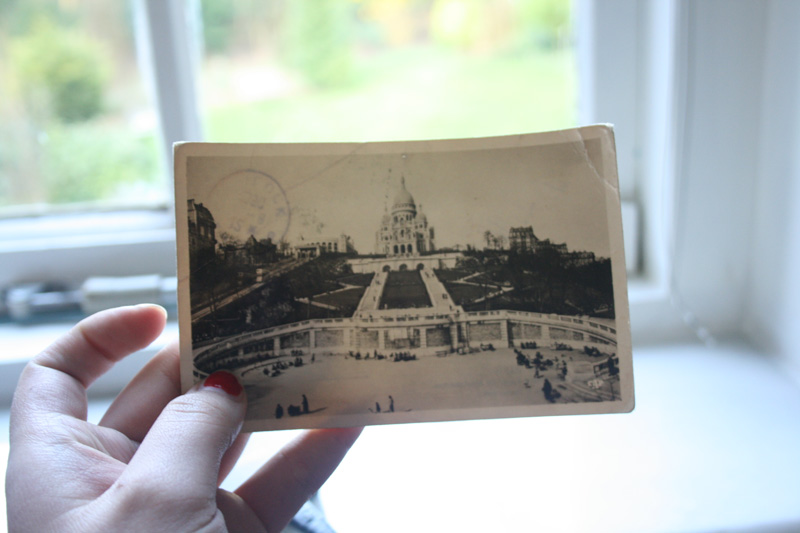 Paris postcard - montmartre